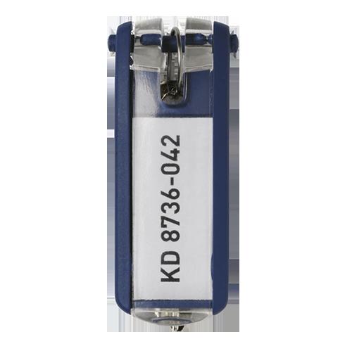 Nyckelbrickor Key Clip blå 6/fp