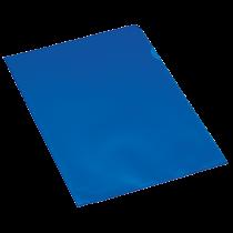 Aktmapp PP A4 0,11 mm blå 100/fp