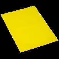 Aktmapp PP A4 0,11 mm gul 100/fp
