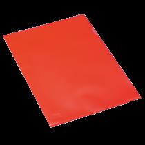 Aktmapp PP A4 0,11 mm röd 100/fp