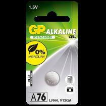 Knappcellsbatteri GP Alkaline LR44/A76