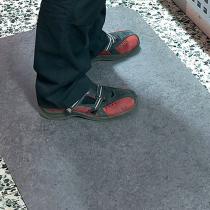 Arbetsplatsmatta Yoga Step Zedlan 91x152 cm