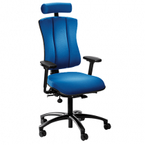 Kontorsstol Höganäs+ 501 blå