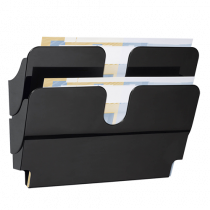 Blankettfack FlexiPlus A4L svart 2/fp