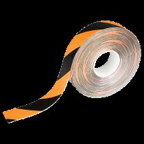 Golvtejp Duraline Strong 50 m svart/gul