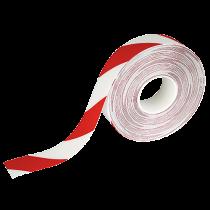 Golvtejp Duraline Strong 50 m  röd/vit