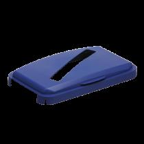 Fällbart lock för papper Durabin 60 blått