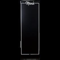 Griffelskylt Meny 160 cm