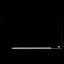 Glastavla Nobo Glas 31 tum 680x380 mm svart