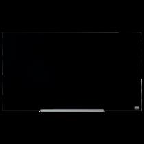 Glastavla Nobo Diamond 993x559 mm svart