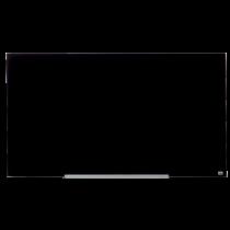 Glastavla Nobo Diamond 1260x711 mm svart