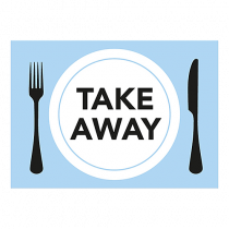 Dekal Take Away A4 3/fp