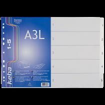 Plastregister KEBAdivider Business A3L 1-5