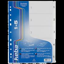 Plastregister KEBAdivider Business A4 1-5