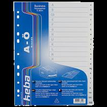 Plastregister KEBAdivider Business A4 A-Ö