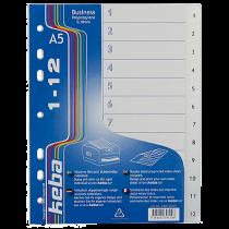 Plastregister KEBA Business A5 1-12