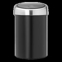 Avfallshink Touch Bin 3L matt svart