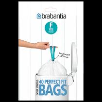 Avfallspåse PerfectFit F 20 liter slimline 40-pack