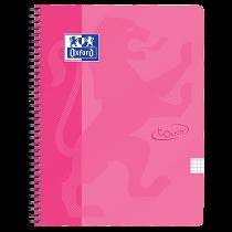 Anteckningsbok Oxford Touch A4 rutat rosa