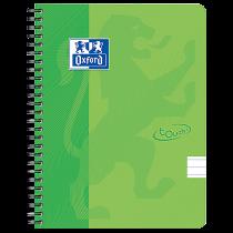 Anteckningsbok Oxford Touch A5 linjerat grön