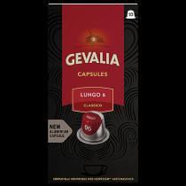 Kaffekapslar Gevalia Lungo 6 Classico 10/fp