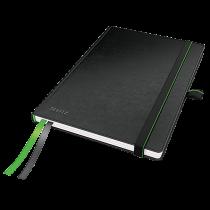Anteckningsbok Leitz Complete A5 linjerat svart
