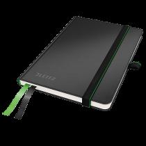 Anteckningsbok Leitz Complete A6 linjerat svart