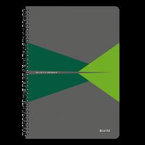 Anteckningsbok Leitz Office A4 linjerat grön