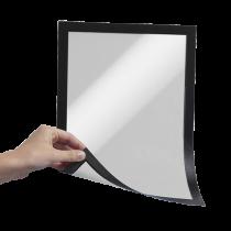 Magnetisk inforam Duraframe A4 svart 5/fp