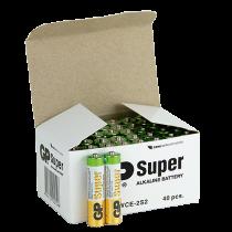 Batteri GP Super Alkaline AAA 40/fp