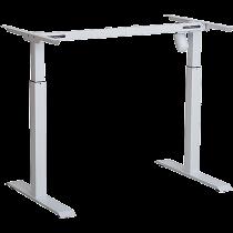 T-stativ Eldrivet Sun-Flex Desk II vit