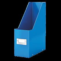 Tidskriftssamlare Click & Store blå