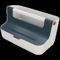 Bärbar förvaringslåda Leitz Cosy grå