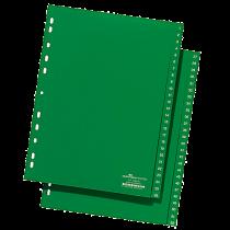 Plastregister Durable A4 1-52