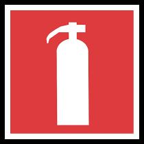 Brandskylt Handbrandsläckare