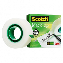 Dokumenttejp Scotch Magic 33mx12mm
