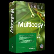 Kopieringspapper Multicopy A4 EU-hål 80 g 500/fp