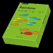 Färgat papper Rainbow A4 160 g intensivgrön 250/fp