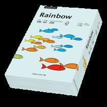 Färgat papper Rainbow A4 120 g ljusblå 250/fp