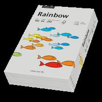 Färgat papper Rainbow A4 160 g grå 250/fp