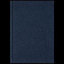 Anteckningsbok Burde A5 olinjerad blå
