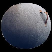 Balansboll Design Jobout mörkgrå filt