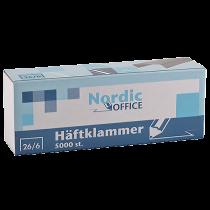 Häftklammer Nordic Office 26/6 5000/fp