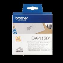DK-etikett Brother Adressetiketter 29x90 mm