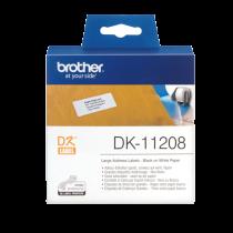 DK-etikett Brother Adressetiketter 38x90 mm