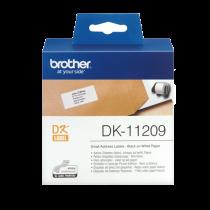 DK-etikett Brother Adressetiketter 29x62 mm