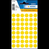 Etikett Färgsignal gul 240/fp