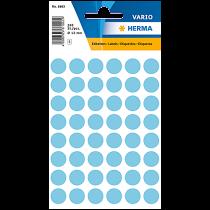 Etikett Färgsignal blå 240/fp