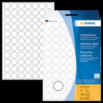Märketiketter Herma diameter 13 mm 2464/fp