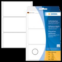 Märketiketter Herma 52x100 mm 96/fp